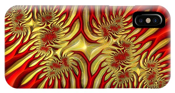 Fractal Landscape IIi IPhone Case