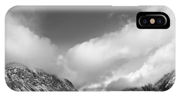 Franconia Notch IPhone Case