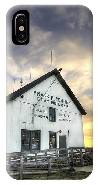 Frank F. Penney Boat Builder IPhone Case