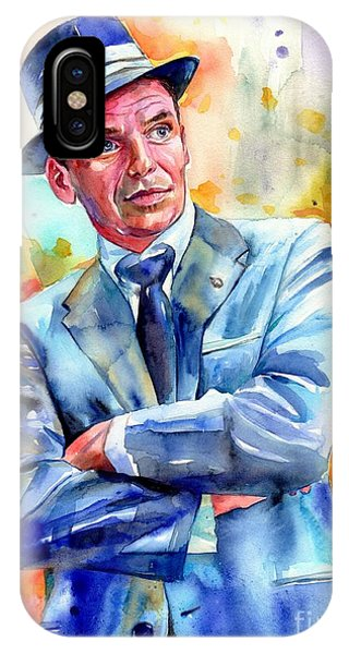 Fairy iPhone Case - Frank Sinatra Young Painting by Suzann's Art