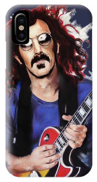 Frank Zappa iPhone Case - Frank Zappa by Melanie D