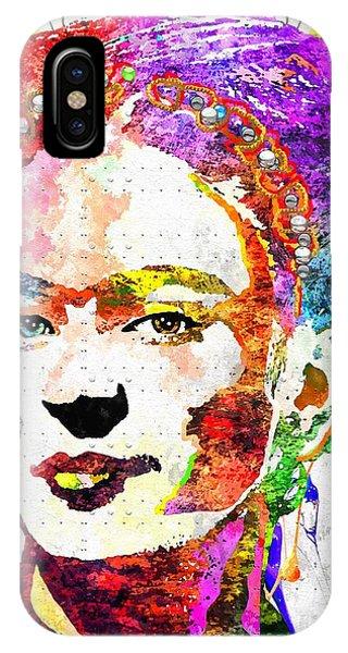 Frida Kahlo Grunge IPhone Case