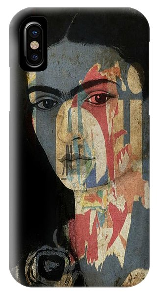 Famous Artist iPhone Case - Frida Kahlo  by Paul Lovering