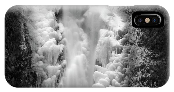 Frozen Multnomah Falls IPhone Case
