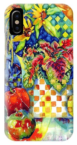 Fruit And Coleus IPhone Case