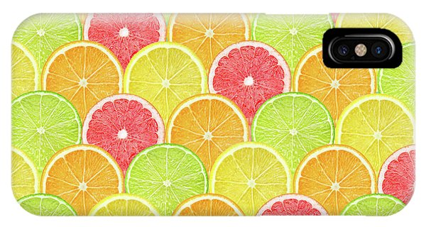 Grapefruit iPhone Case - Fresh Fruit  by Mark Ashkenazi