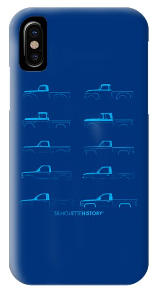 Fullsize Pickup Silhouettehistory Phone Case by Balazs Iker