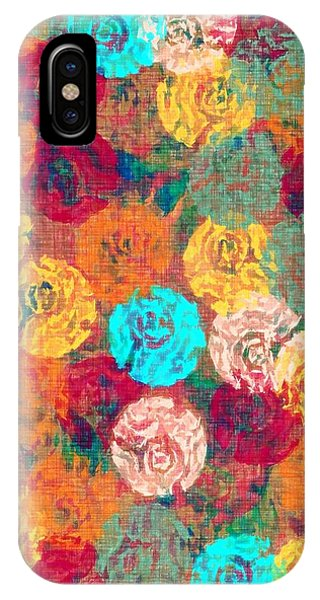 Fun Flowers IPhone Case