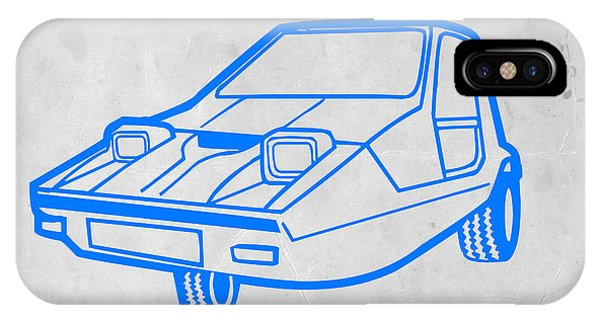 Retro iPhone Case - Funny Car by Naxart Studio