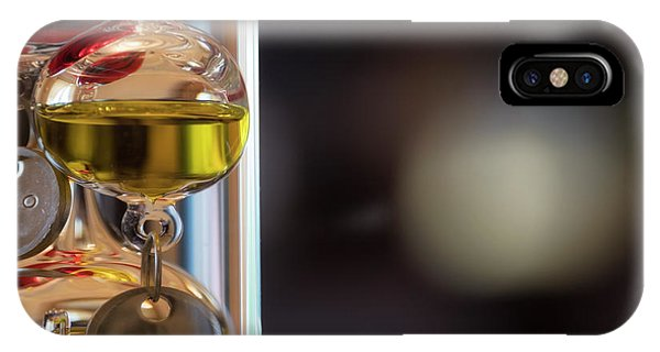 IPhone Case featuring the photograph Galileo Thermometer by Jeremy Lavender Photography