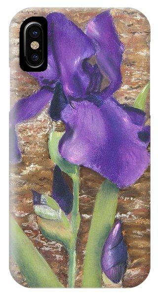Garden Iris IPhone Case