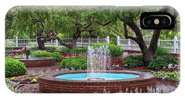 IPhone Case featuring the photograph Gardens At Prescott Park by Sharon Seaward