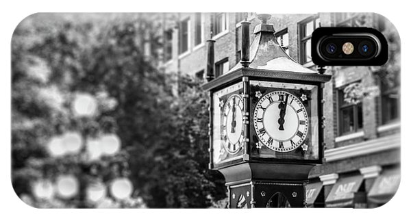 Gastown Steam Clock IPhone Case