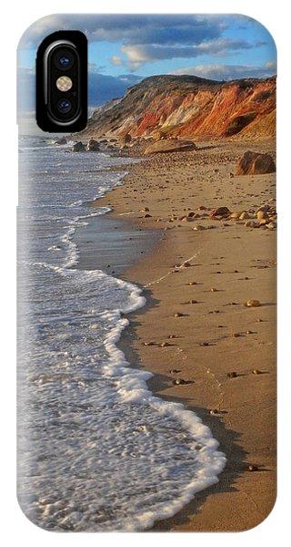 Gayhead Cliffs Marthas Vineyard IPhone Case