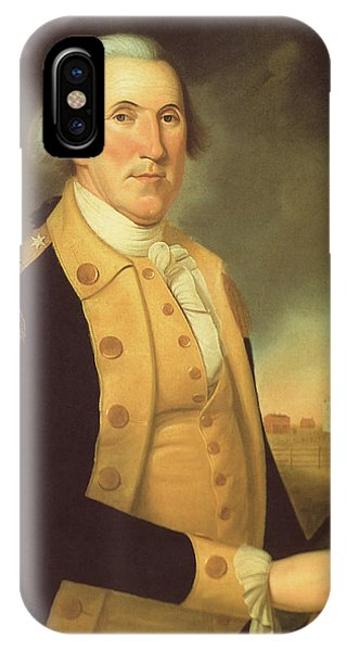 George iPhone Case - General George Washington by War Is Hell Store