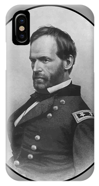 Leader iPhone Case - General Sherman by War Is Hell Store