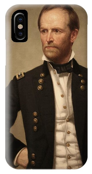 Patriot iPhone Case - General William Tecumseh Sherman by War Is Hell Store