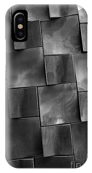 Rectangles iPhone X Case - Geometrix Abstract Art by Edward Fielding