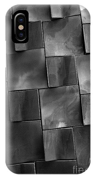 Rectangle iPhone Case - Geometrix Abstract Art by Edward Fielding