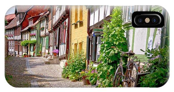 German Old Village Quedlinburg IPhone Case