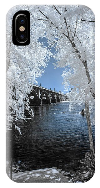 Gervais St. Bridge In Surreal Light IPhone Case