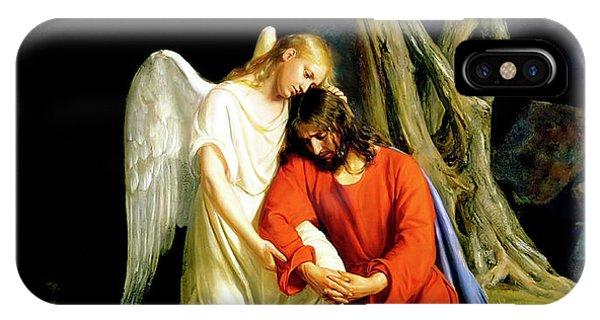 Messiah iPhone Case - Gethsemane by Carl Bloch