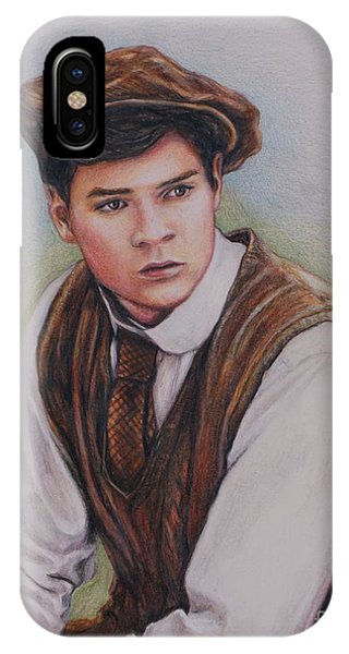 iPhone Case - Gilbert Blythe / Jonathan Crombie by Christine Jepsen