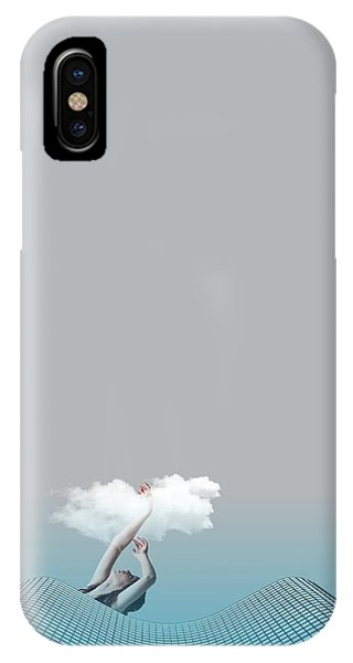 Minimal iPhone Case - Girl In Soul by Caterina Theoharidou