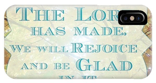 Design iPhone Case - Give Thanks To The Lord, For He Is by LIFT Women's Ministry designs --by Julie Hurttgam