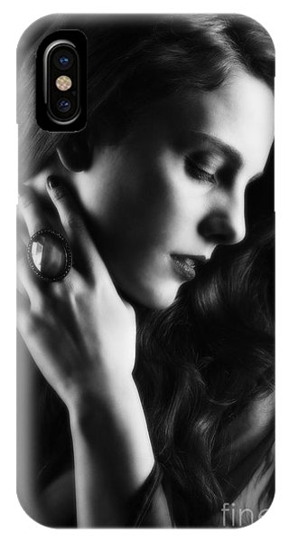 Glamorous Woman IPhone Case