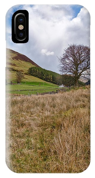 IPhone Case featuring the photograph Glendevon In Central Scotland by Jeremy Lavender Photography