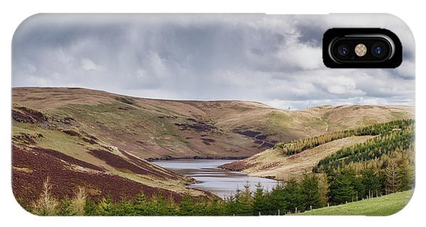 IPhone Case featuring the photograph Glensherup Reservoir by Jeremy Lavender Photography