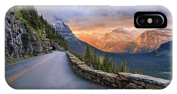 Going To The Sun IPhone Case