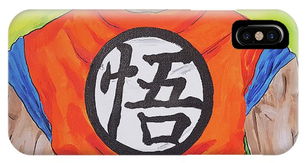 Goku Kanji IPhone Case