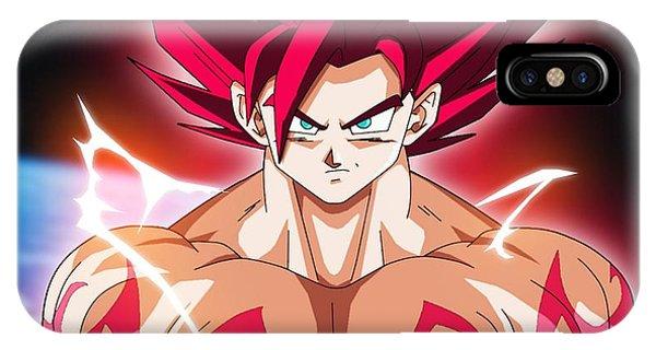 Saiyans iPhone Case - Goku Super Saiyan by Babbal Kumar