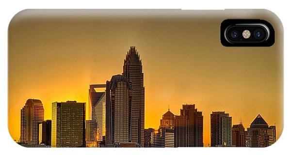 Golden Charlotte Skyline IPhone Case