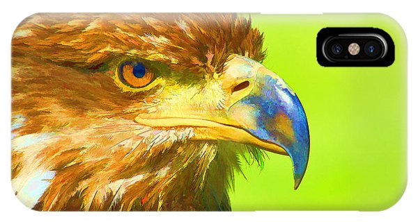 Golden Eagle IPhone Case