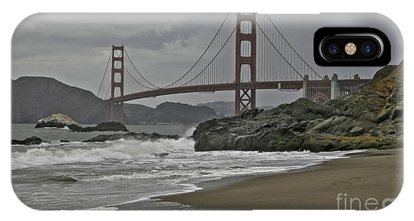 Golden Gate Study #1 IPhone Case