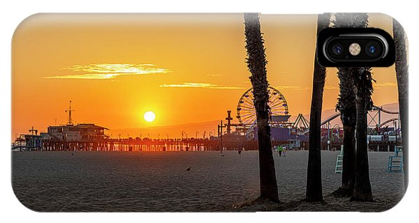 Golden Glow At Sunset IPhone Case