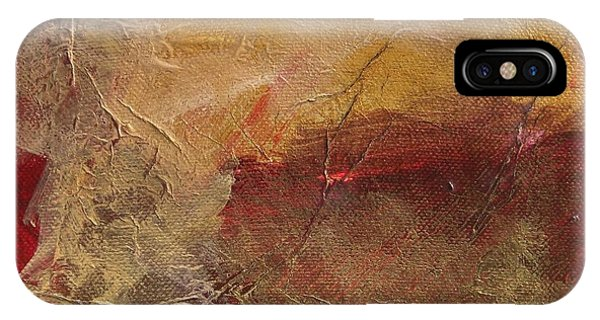 Golden Ruby IPhone Case