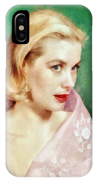Grace Kelly By John Springfield IPhone Case