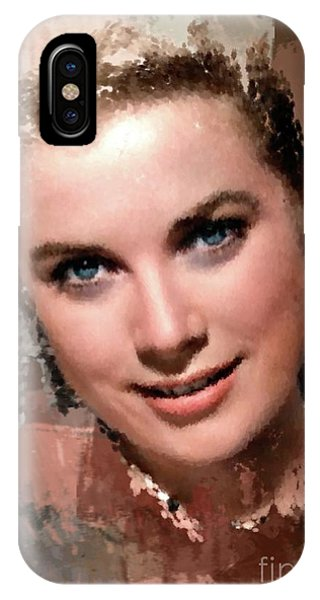 Grace Kelly, Vintage Hollywood Actress IPhone Case