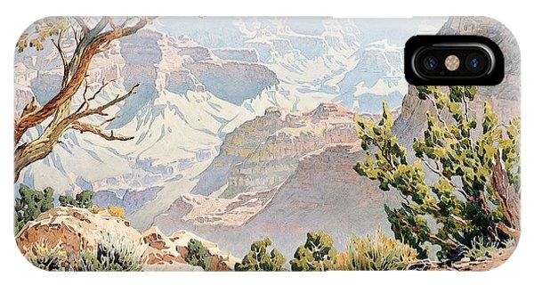 Barren iPhone Case - Grand Canyon by Gunnar Widforss