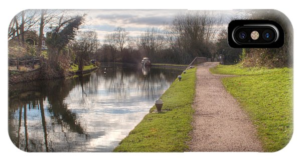 iPhone Case - Grand Union Canal Rickmansworth by Chris Day
