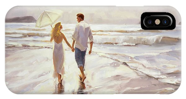 Parasol iPhone Case - Hand In Hand by Steve Henderson
