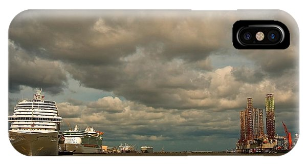 Harbor Storm IPhone Case