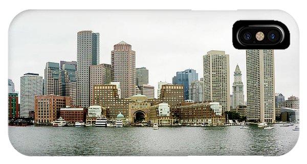 Zakim Bridge iPhone Case - Harbor View by Greg Fortier