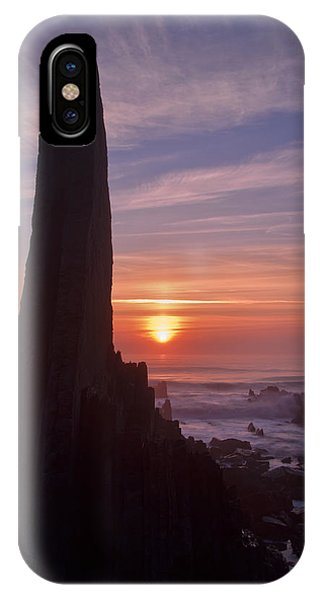 Hartland Seascape From The West Coast Of Devon IPhone Case