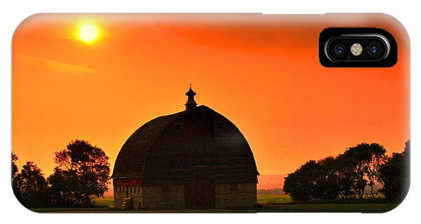 Harvest Sunset  IPhone Case