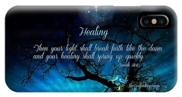 Healing Art By Sherri Of Palm Springs IPhone Case